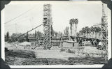 Early stages of construction of Pasadena City Hall